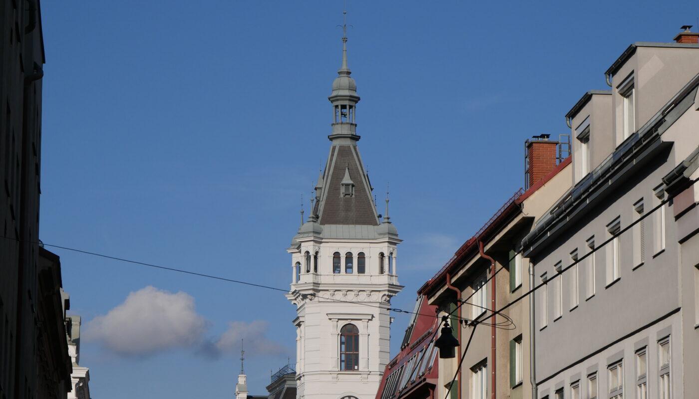 Turm des Amtshauses