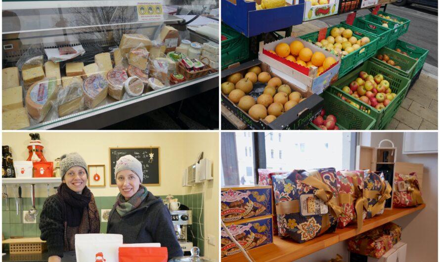 Weihnachtseinkauf am Währinger Vogl-Markt