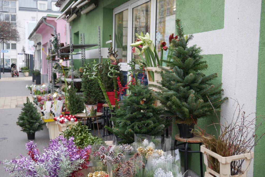 Vogl-Markt: Blumenstand