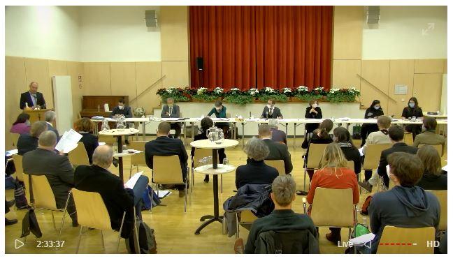 Sitzung der Bezirksvertretung live im Internet