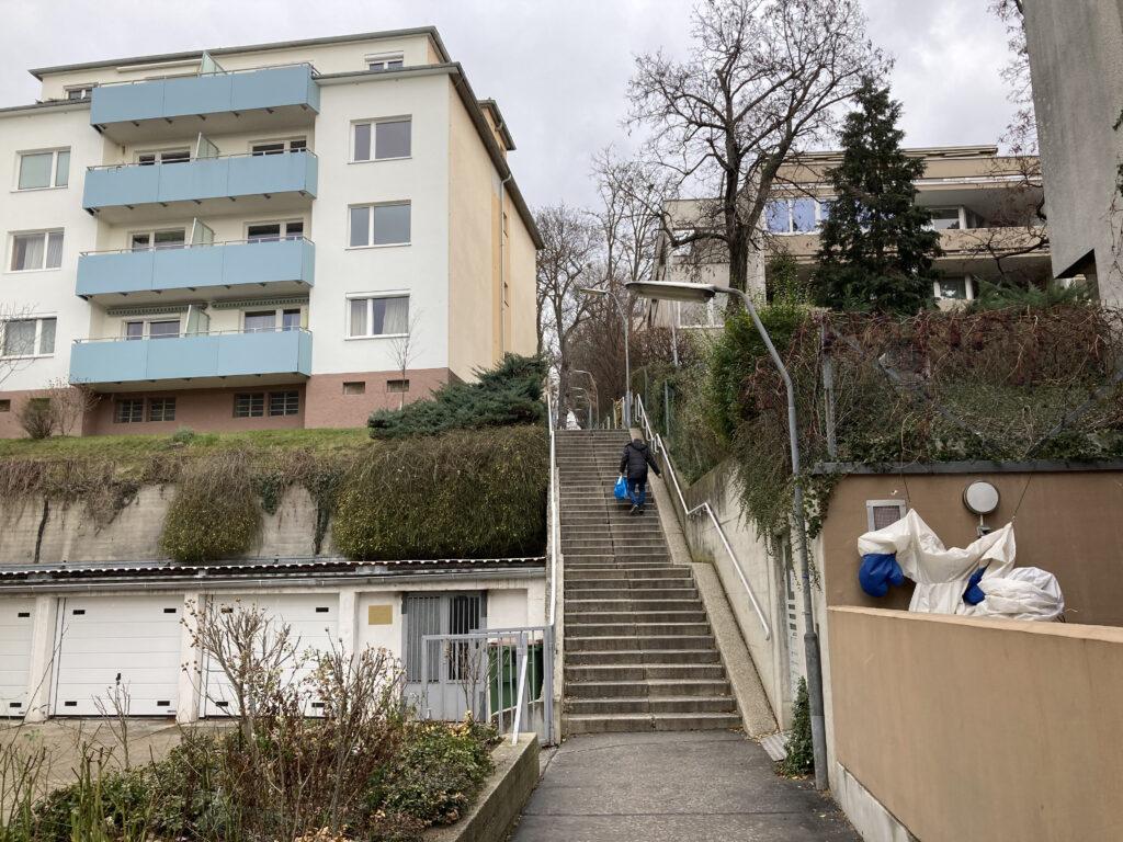 Stiege Gersthoferstraße-Karlweisgasse