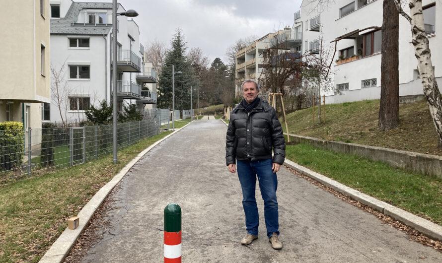 Neuer Durchgang bei der Gersthofer Straße