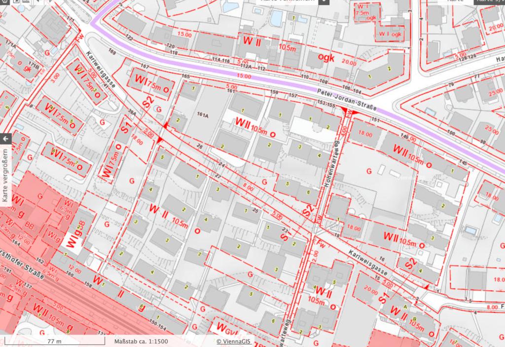 Flächenwidmung Quelle: Wien.gv.at