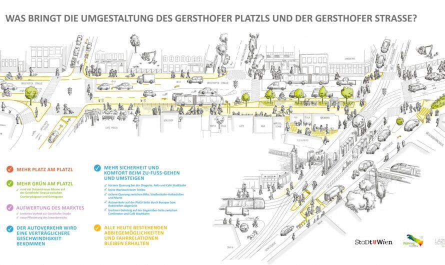 Gersthofer Platzl – Bezirk beschließt Umbau