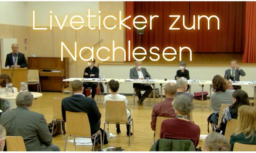Sitzung der Bezirksvertretung als Liveticker zum Nachlesen