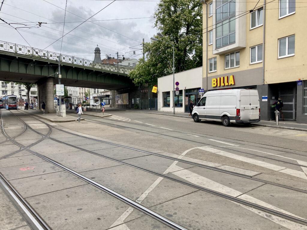 Bahnsteige Gersthofer Platzl