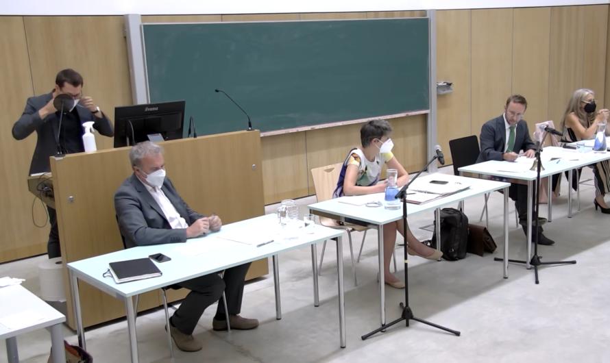 September-Sitzung der Bezirksvertretung live im Internet
