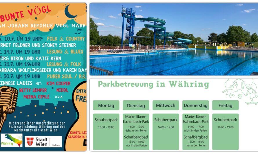 Ein Sommer für Groß und Klein in Währing