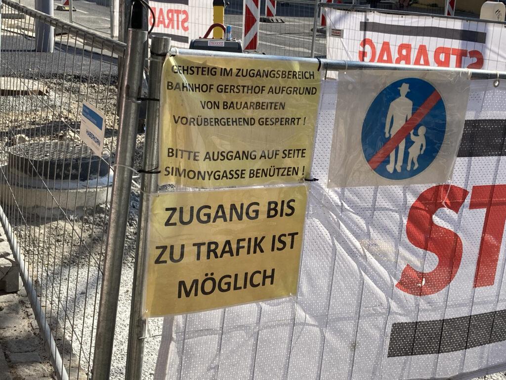 Gersthofer Platzl - Umbau