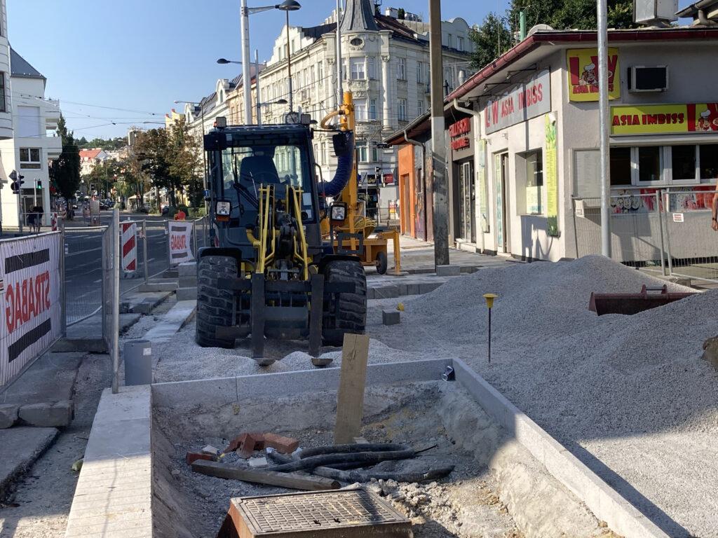 Umbau Gersthofer Platz