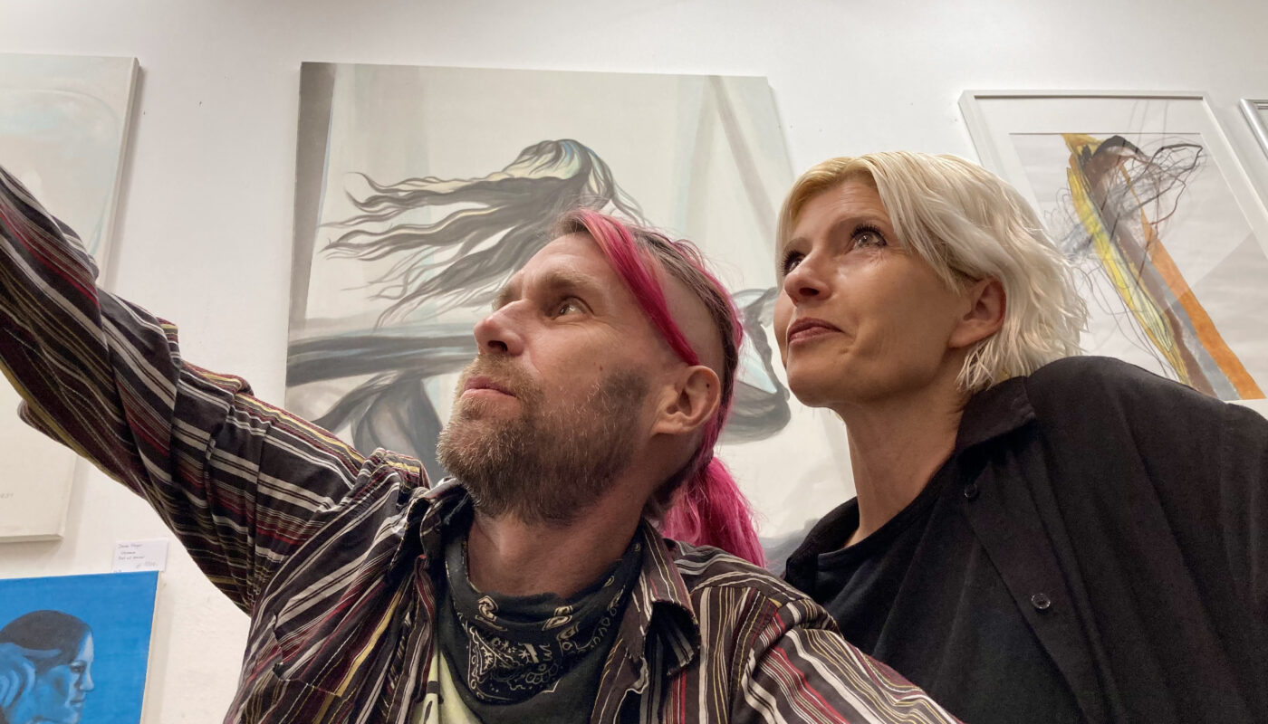 Momo Höflinger und Mike Blumentopf