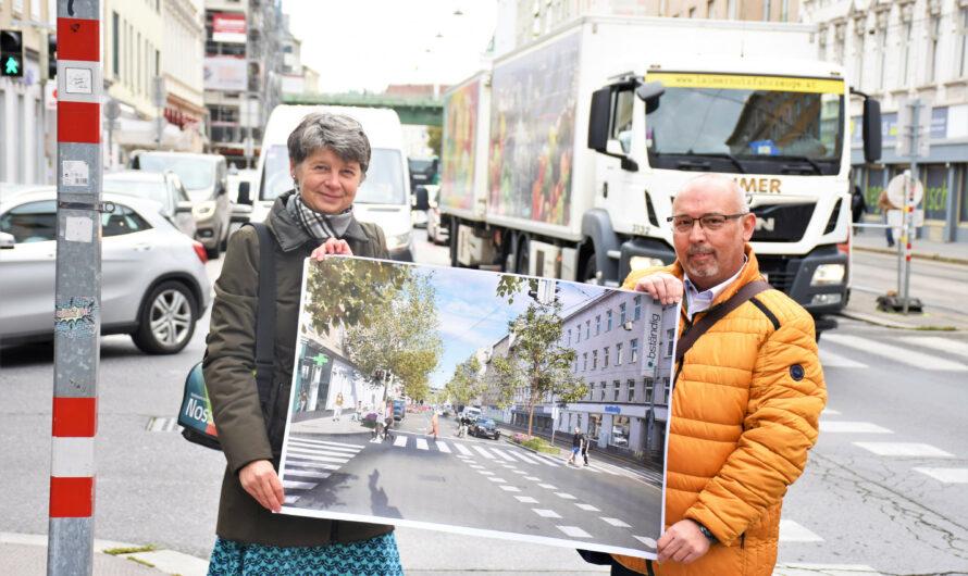 16 neue Bäume und Verkehrsberuhigung in der Jörgerstraße