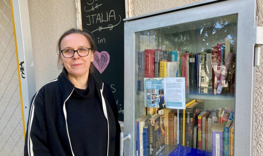 Spendenaktion für neue Bücherschränke